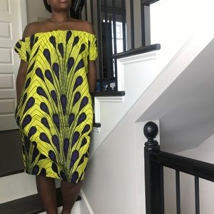 Authentic African shift dress